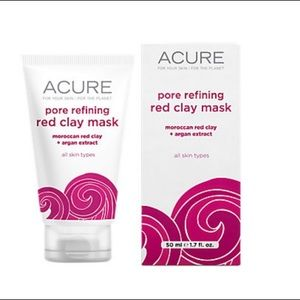 Other - Acure Pore Refining Red Clay Mask New in Box